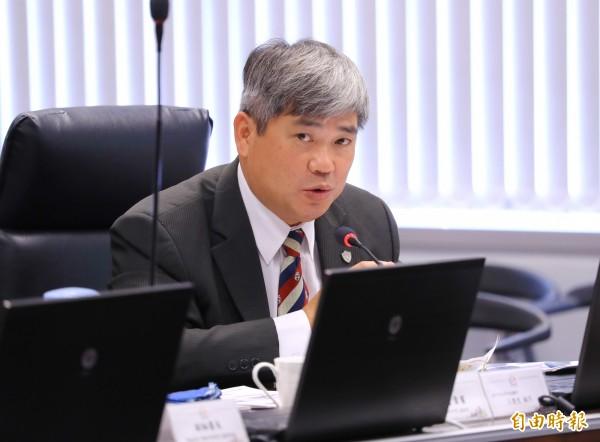 台中市運動局長內定為台體大教授王慶堂。(記者張菁雅攝)