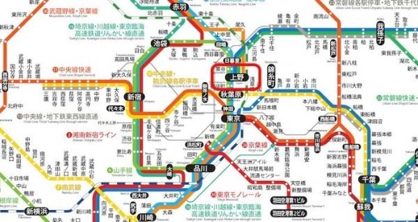 東京地鐵的官方圖(高捷提供)。