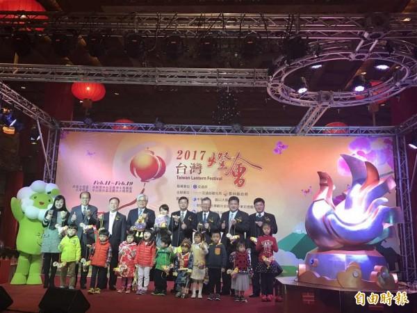 2017台灣燈會在雲林。(記者甘芝萁攝)