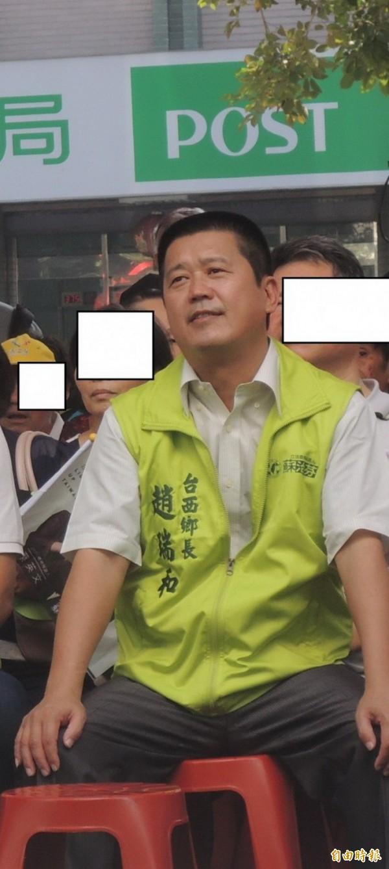 涉妨害自由,台西鄉長趙瑞和被判刑2年2月並褫奪公權3年。(記者廖淑玲攝)