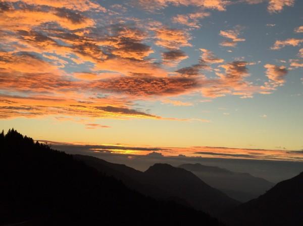 太平山的雲彩。(圖由太平山莊提供)