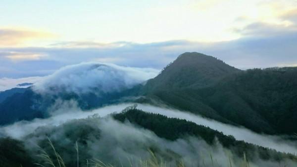 太平山的山嵐。(圖由翠峰山屋黃清漢提供)