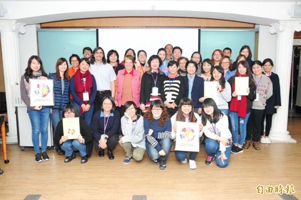 教育部中區「日本及西班牙文化教學策略教師研習營」於靜宜大學舉行。(記者張軒哲攝)