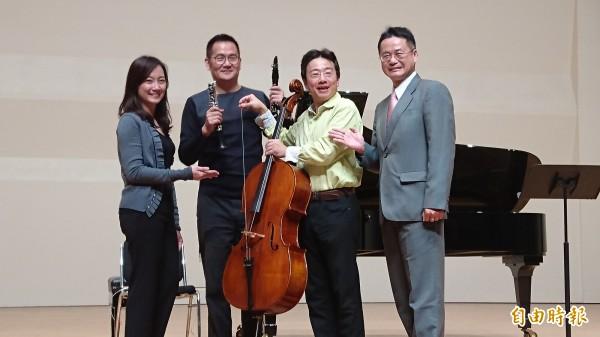 張正傑親子音樂會,今年將上演管樂與弦樂的大PK。(記者劉婉君攝)