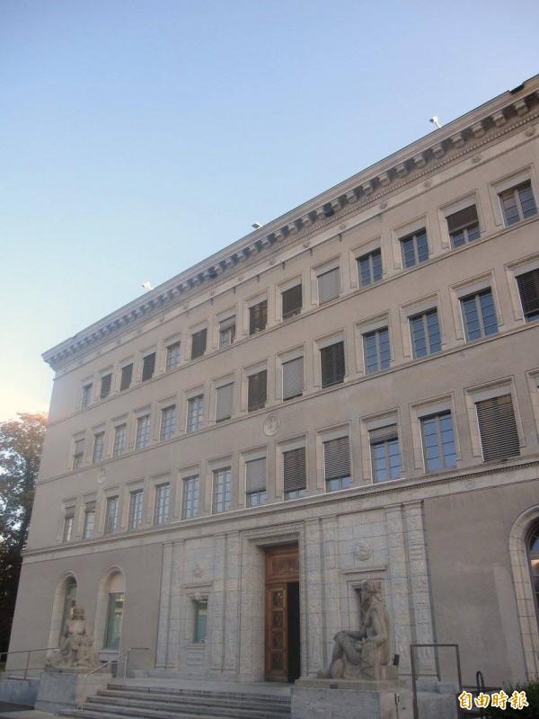 WTO今天宣布貿易便捷化協定生效。圖為WTO總部。(記者黃佩君攝)
