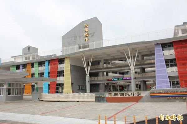 新竹縣政府教育處證實,東興國中附設幼兒園計畫將喊「卡」!(記者黃美珠攝)