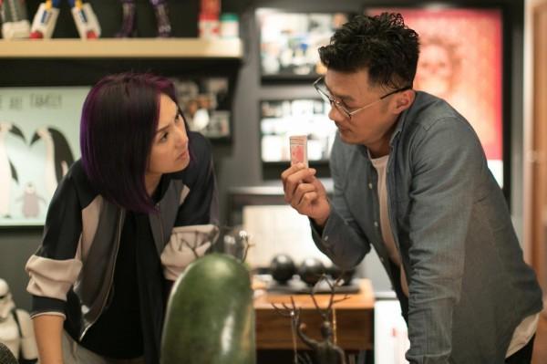 楊千嬅(左)和余文樂在《春嬌救志明》感情再次出現危機。(取自《春嬌救志明》臉書)