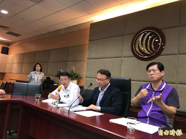 國家通訊傳播委員會今天通過通過預告「業餘無線電管理辦法」及「業餘無線電機技術規範」修正草案。(記者陳炳宏攝)