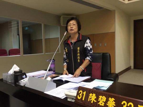 面對褫奪公權判決,陳碧華說,感到很冤枉但也尊重司法。(記者許展溢翻攝)