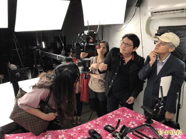 發揚媽祖婆文化,大學師生參觀白沙屯媽祖網路電視台喊讚(記者蔡政珉攝)