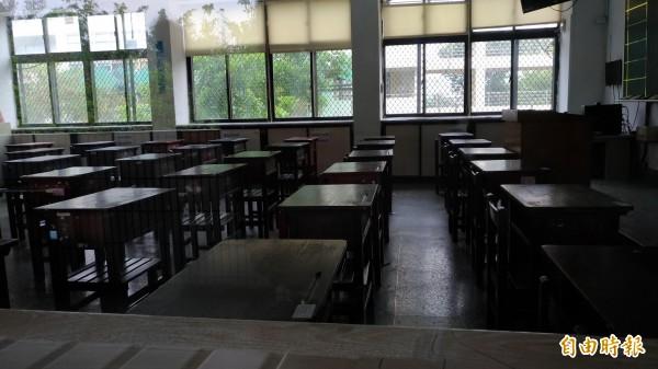 國中教育會考雲林試場準備就緒。(記者廖淑玲攝)