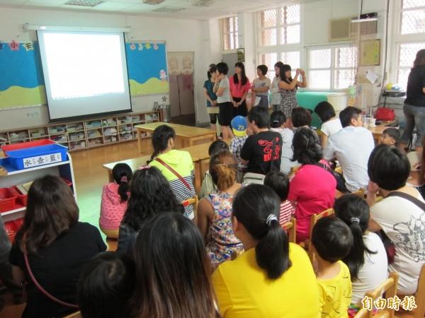 幼兒園招生,都會區擠破頭,偏鄉卻招不到學生。(資料照,記者何玉華攝)