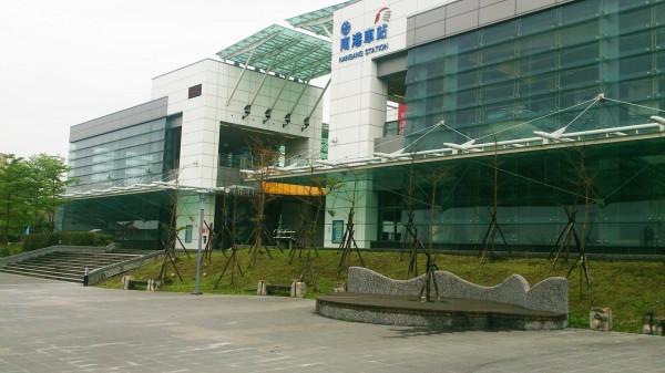高鐵南港站通車將滿週年,分食台北站近10%旅客(圖:台灣高鐵公司提供)