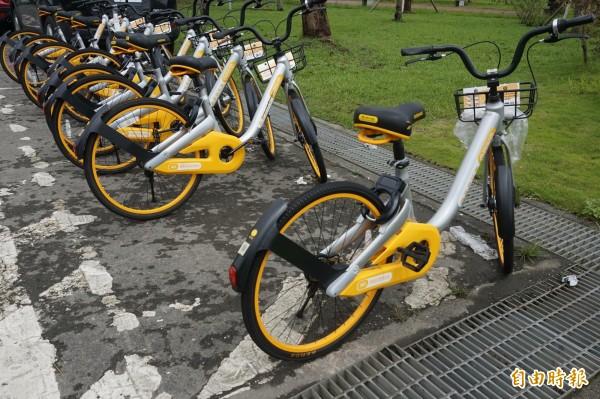 宜蘭市公所將在市內設置20個腳踏車專用停車處,解決無站式自行車的停放問題。(記者林敬倫攝)