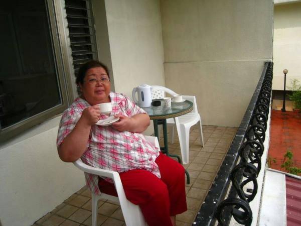 糖尿病友謝綉敏2年前體重曾重達120公斤。(記者王俊忠翻攝)