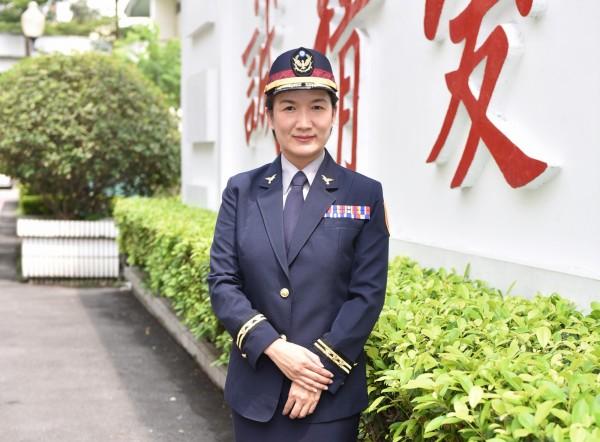 警政署國際組警務正張維容(記者姚岳宏翻攝)