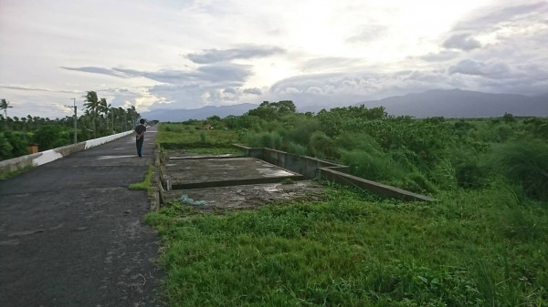 原來的清林公園是林邊鄉的防水內堤防(圖:永樂村長提供)