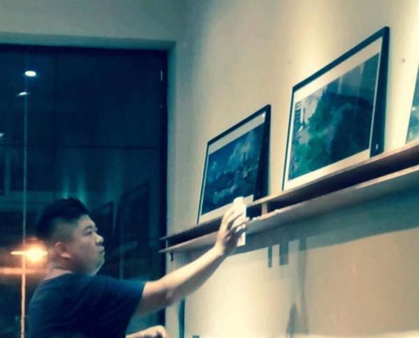 畫家「林北」舉辦畫展救動物。(林北提供)
