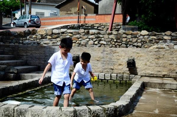 水利局將改善龍目井親水空間。(水利局提供)