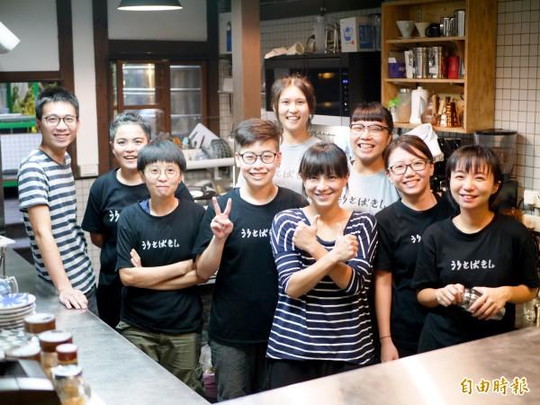 宜蘭賣捌所今年7月重新開幕,由相知國際和村山小學合作經營。(記者簡惠茹攝)