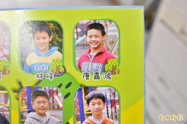 在這次世大運競技體操地板項目奪第四名的唐嘉鴻,是小李智凱一屆的體操隊校友。(記者張議晨攝)