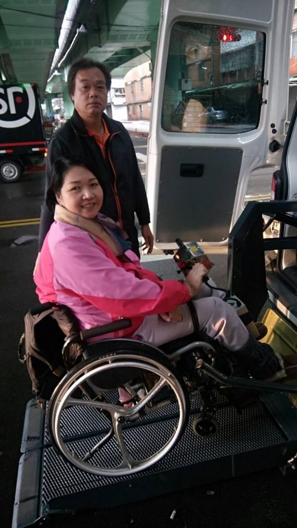 復康巴士預約後難變更,身障者支持推無障礙小客車運輸平台(資料照,圖:遠通電收提供)