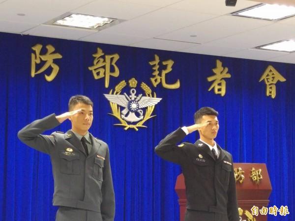 國防部今日公布「ROTC」大學儲備軍官團簡章。圖為國軍軍士官。(資料照,記者涂鉅旻攝)