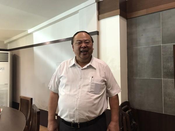 台南市前警察局長陳子敬將以「柯P模式」尋求藍營支持。(記者邱灝唐翻攝)