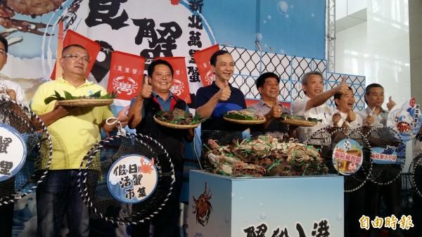 新北市政府打響萬里蟹品牌,今年邁入第六年。(記者賴筱桐攝)