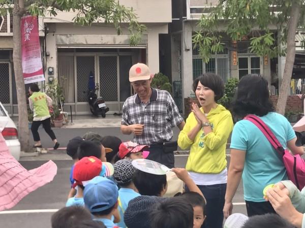 立委陳亭妃指出,她若能當選市長,將延續行政院長賴清德擔任台南市長時的政策,為第二官語的努力,把成果發揚光大。(記者邱灝唐翻攝)