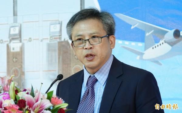美國在台協會處長梅健華說,過去5年證明了台灣旅客是值得信賴的旅客。(記者姚介修攝)