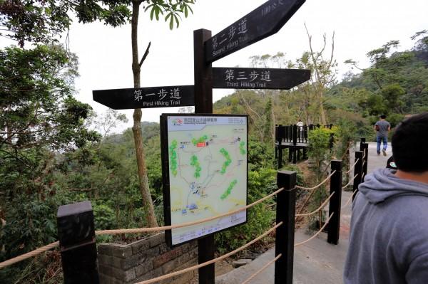台中市政府打造百里登山步道計畫,民調獲得近76%民眾支持。(市府提供)