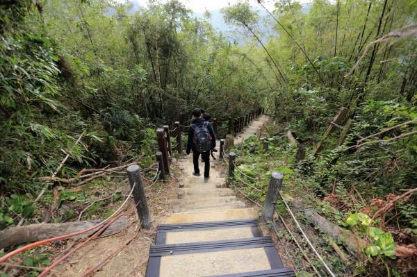 台中市政府目前列管的步道共47條,109年底前將再完成13條步道。(市府提供)