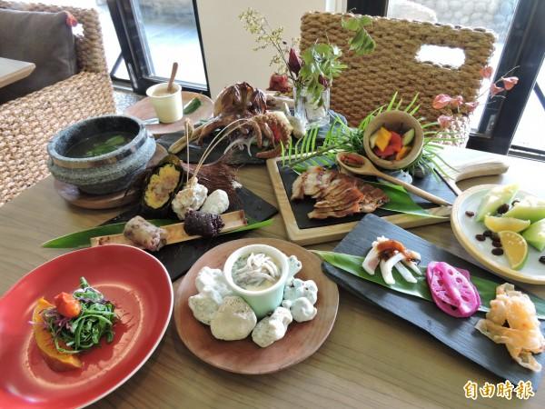 MATA套餐吃的到均衡原味及主廚滿滿的用心。(記者張存薇攝)