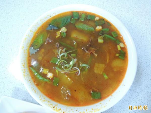 越南版紅燒牛肉。(記者王榮祥攝)