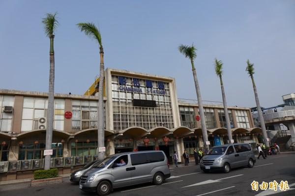 彰化火車站是台鐵山、海線交會處。(記者劉曉欣攝)