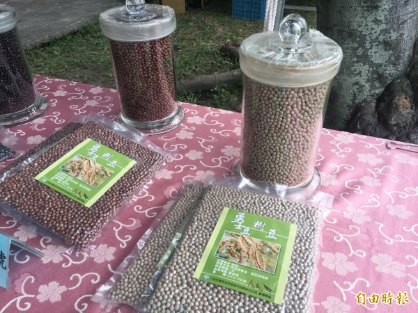 樹豆是雜糧類的明日之星。(記者張存薇攝)