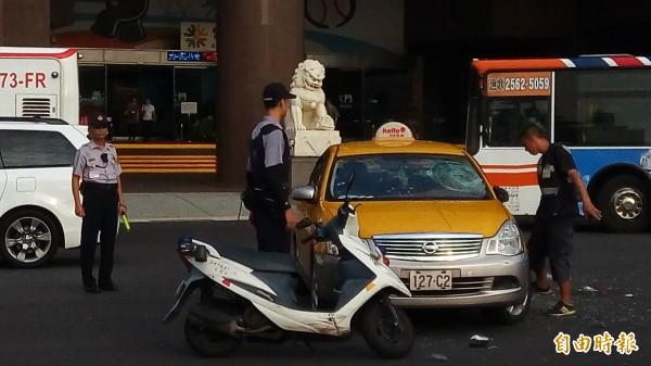 台北市交通事故死亡件數去年創20年以來新低。(記者黃建豪攝)