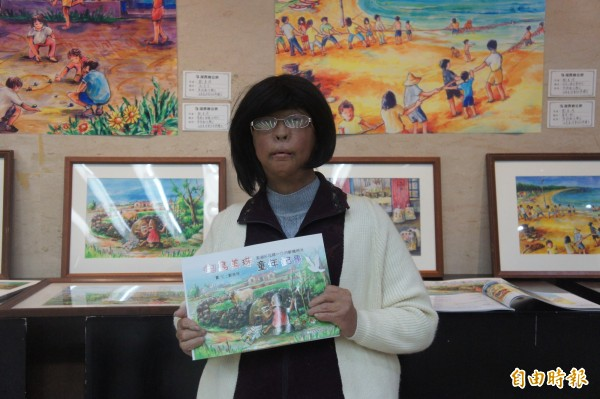 澎湖縣藝術家鄭美珠,也傳出有意投入縣議員選舉。(記者劉禹慶攝)
