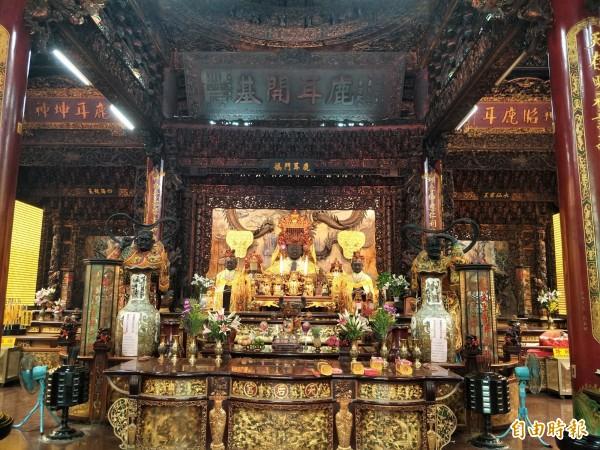 廟方表示,天后宮在過年期間將有動感靜態兼具的活動,值得一訪。(記者邱灝唐攝)