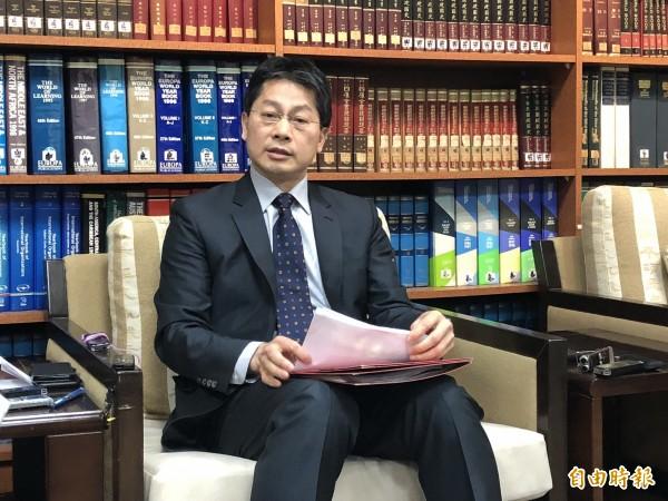 外交部發言人李憲章今天表示,目前除了巴紐外館,其餘駐館沒有問題,「相對平順」。(資料照)
