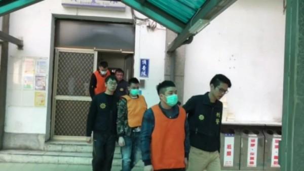 警方將全案依組織犯罪條例等罪嫌送辦。(記者許國楨翻攝)