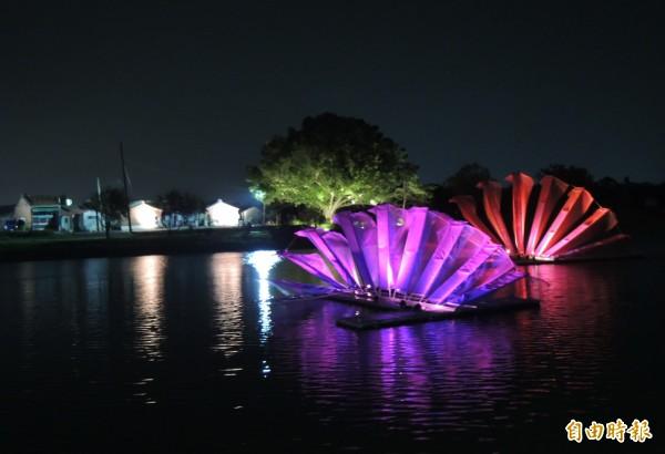 鹽水月津港再獲前瞻建設補助改善水環境。(記者楊金城攝)