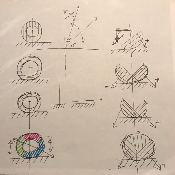 衍象設計實驗室公布作品「嘉藝之光」設計手稿及創作過程。(取自衍象設計實驗室臉書粉絲團)