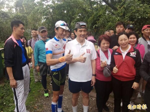 花蓮地震後觀光業慘澹,前總統馬英九今天到花蓮旅遊。(記者王錦義攝)