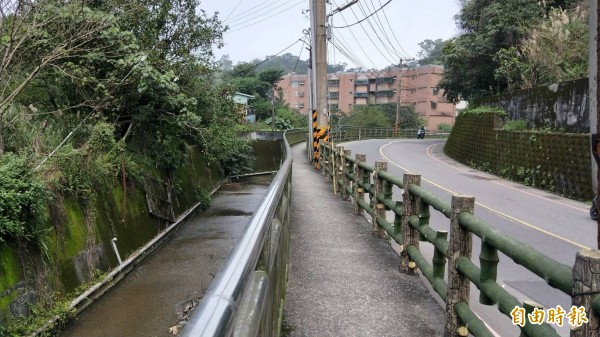 基隆中和路拓寬,西定河上游部分河道將加蓋(記者盧賢秀攝)