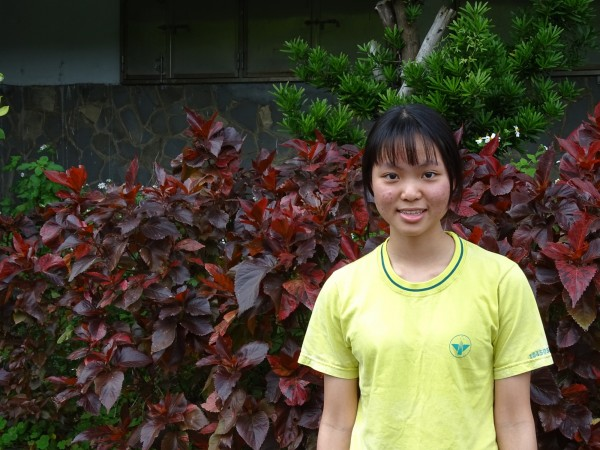 台北市永春高中李家郡錄取清華大學科技管理學院。(永春高中提供)