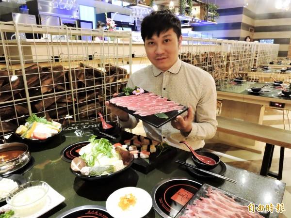 柯宗佑愛吃火鍋,進而跨入火鍋市場。(記者張菁雅攝)
