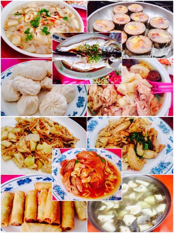 CP值超高!復興桂竹筍饗宴這10菜1湯認桌只要2000元。(復興區公所提供)