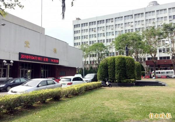 台中市長林佳龍認為黎明新村可做為行政院遷台中的選擇。(記者張菁雅攝)